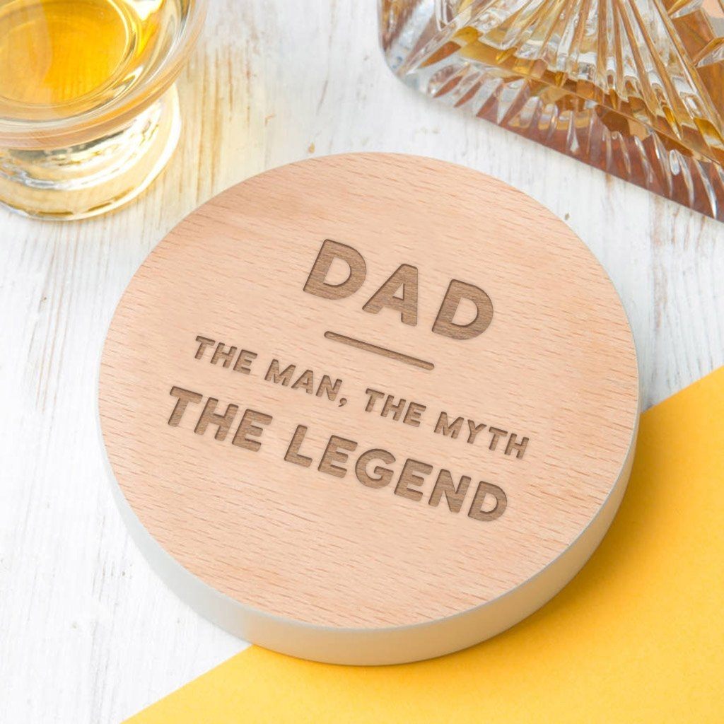 Dad `The Legend' Coaster For Fathers Day 14784