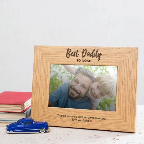 Personalised Best Daddy Photo Frame 14785