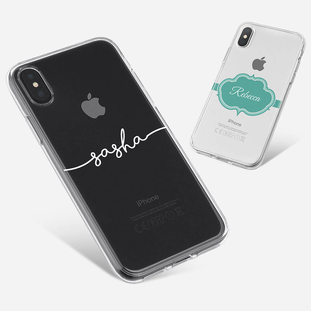 iPhone X Clear Hard Case 13489