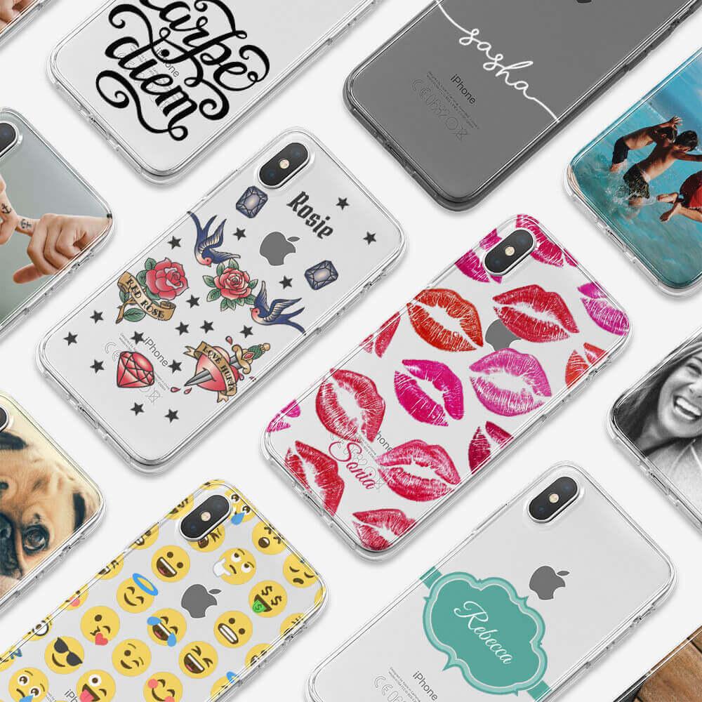 iPhone X Clear Hard Case 13488