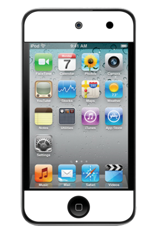 iPod Touch 4th Gen Skin 4086