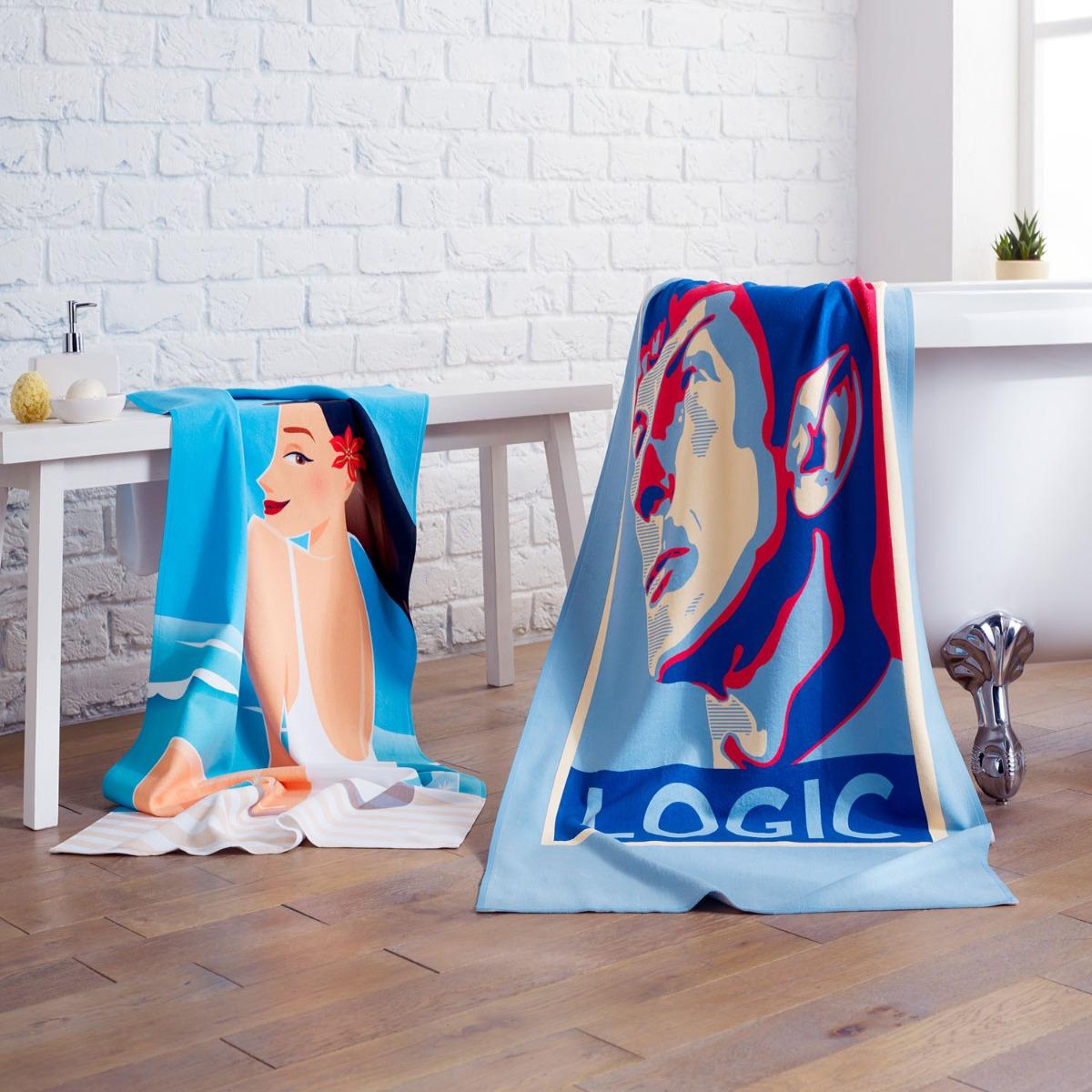 Personalised Beach Towels 16182