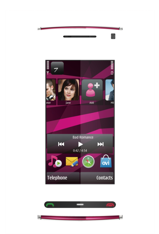 Nokia X6 Skin 3969