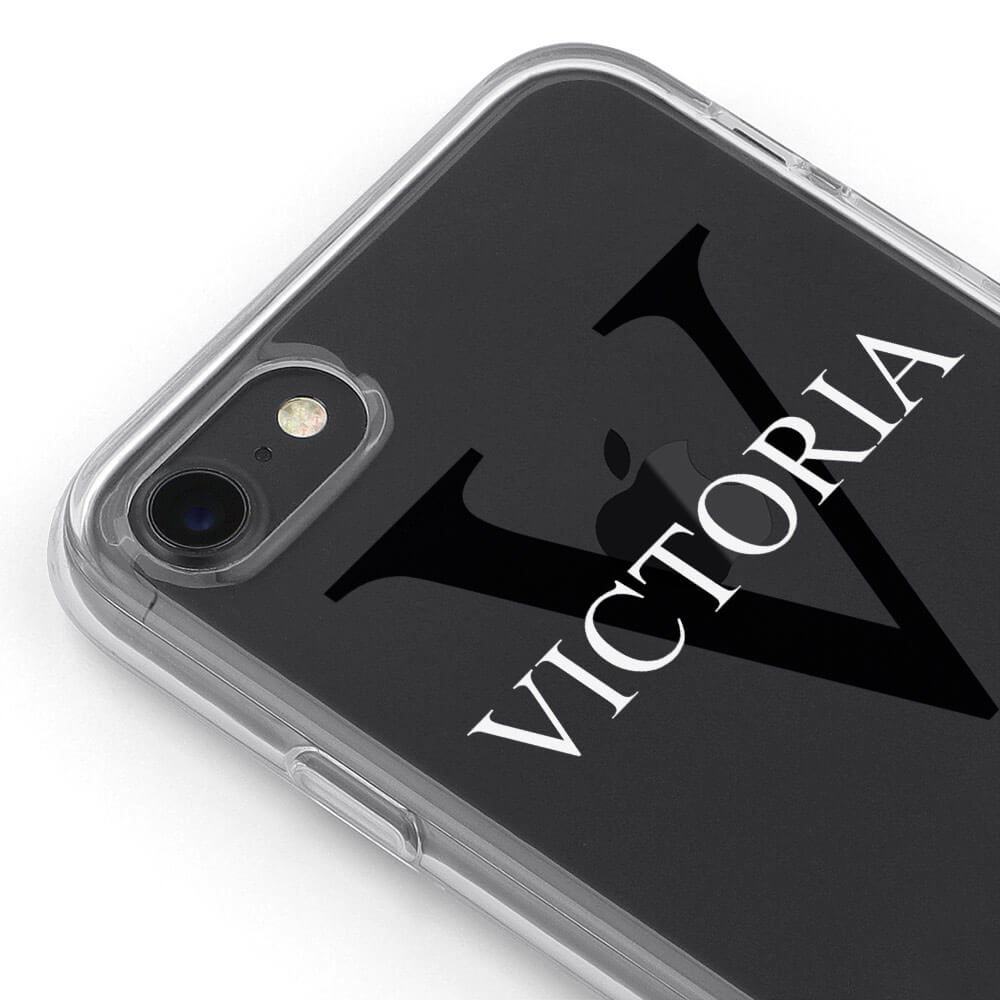free shipping fc957 84323 Personalised Clear Hard Phone Cases & Covers | Wrappz