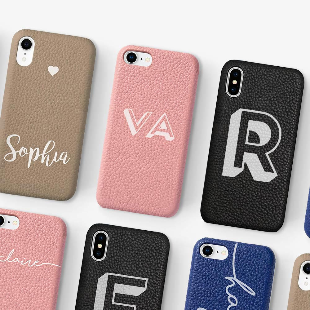 REAL LEATHER PHONE CASES