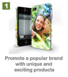Promote a popular brand with unique and exciting products