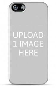 Personalised iPhone 5/5S Case Template with 1 Image