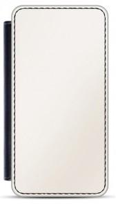 Faux Leather iPhone 5/5S Flip Case