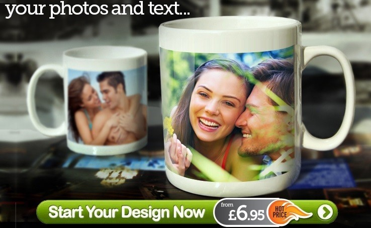 Personalised Mugs Design your own Mug