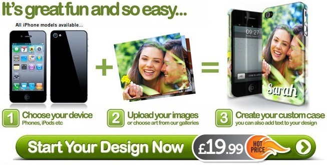Personalised iPhone 4 Cases - Design your Own