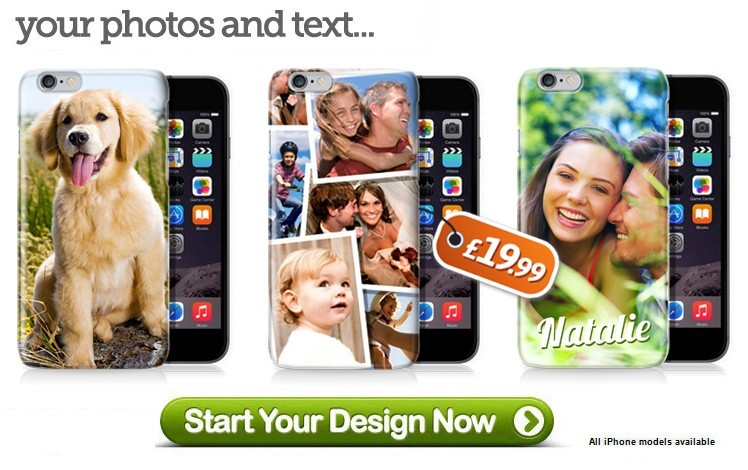 Personalised iPhone 6 Cases - Design your Own