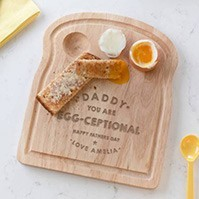 Personalised Egg Board For Daddy